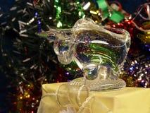 Bull de vidro Foto de Stock