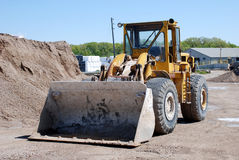The Bull Dozer Stock Images