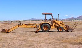 Bull Dozer Royalty Free Stock Images