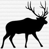 Bull Elk Illustration Royalty Free Stock Image
