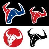 Bull emblem Stock Images