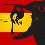 Bull española Foto de archivo libre de regalías