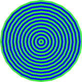 Bull eye pattern Stock Images