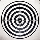 Bull eye target Royalty Free Stock Photography