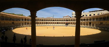Bull Fighting Arena Royalty Free Stock Image