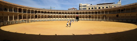 Bull Fighting Arena Stock Photography