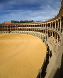 Bull Fighting Arena Royalty Free Stock Photography