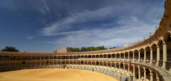 Bull Fighting Arena Royalty Free Stock Images