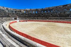 Bull Fighting Arena Nimes Stock Images