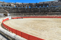 Bull Fighting Arena Nimes Royalty Free Stock Image