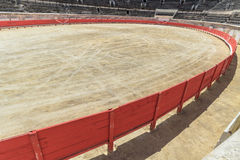 Bull Fighting Arena Nimes Stock Photo