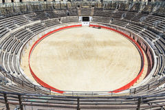 Bull Fighting Arena Nimes Royalty Free Stock Photo
