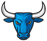 Bull head royalty free illustration