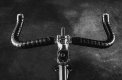 Bull Horn Bicycle Hand Royalty Free Stock Images
