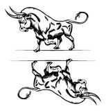 Bull icon Royalty Free Stock Photo
