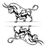 Bull icon Royalty Free Stock Photo