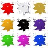 Bull illustration Royalty Free Stock Photos