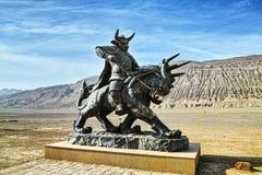 Bull King statue Stock Photos