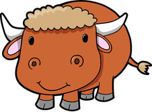 Bull-Kuhvieh Vektor Stockfotos