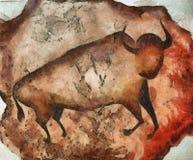 Bull a la Altamira Stock Image