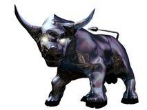 Bull métallique illustration stock