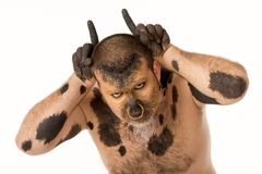 Bull man Stock Photography