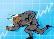 Bull market Royalty Free Stock Photography