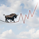 Bull Market Risk Stock Photos