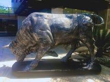 Bull of metal bullfight. Corridas Stock Images