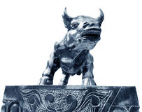 Bull outside Royalty Free Stock Photography