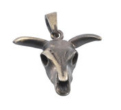 Bull pendant. Royalty Free Stock Photography