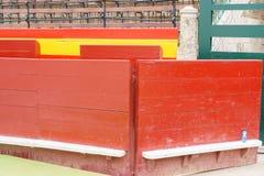 Bull plaza wall Stock Photography