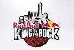 Bull-Rei vermelho da rocha Imagem de Stock Royalty Free