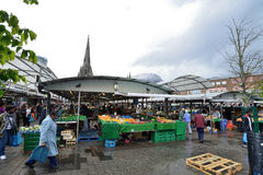 Bull Ring market, Birmingham Stock Photos