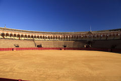 Bull ring in Spain Royalty Free Stock Images