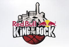 Bull-Roi rouge de la roche Image libre de droits