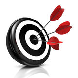 Bull's eye Royalty Free Stock Images