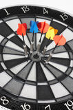 Bull's eye with arrows Royalty Free Stock Photography