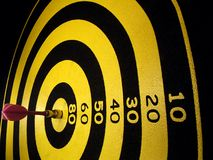 Bull's Eye, Darts Royalty Free Stock Photography