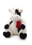 Bull in sciarpa rossa Fotografia Stock Libera da Diritti