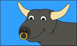 Bull selfie απεικόνιση αποθεμάτων