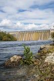 Bull Shoals dam. The Bull Shoals dam and lake at Bull Shoals Arkansas Stock Photography