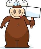 Bull Sign Royalty Free Stock Image