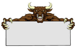 Bull Sign Royalty Free Stock Images