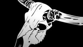 Bull skull Line art  [ Vector Format available ]. Java, Indonesia [ 15-06-2019 ]  : Line art Bull skull for you, format vector available vector illustration