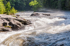 Bull Sluice on Chattooga Wild and Scenic River Stock Photo