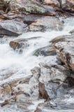 Bull Sluice rapids. Royalty Free Stock Photo