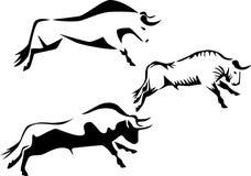 Bull royalty free illustration