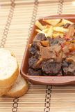 Bull tail, spanish food Stock Image