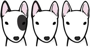 Bull terrier illustrazione vettoriale